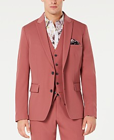 I.N.C. Men's Slim-Fit Dusty Red Blazer, Created for Macy's
