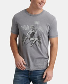 Lucky Brand Men's 40s Pinup Graphic T-Shirt
