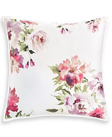 "Hotel Collection Classic Jardin Cotton 26"" x 26"" European Sham, Created for Macy's"