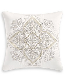 "Classic White Shop 18"" x 18"" Decorative Pillow, Created for Macy's"