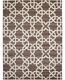 Bridgeport Home Arbor Arb5 Light Brown 9' x 12' Area Rug
