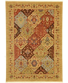Bridgeport Home Orwyn Orw1 Tan 7' x 10' Area Rug