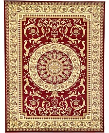 Bridgeport Home Belvoir Blv2 Red 9' x 12' Area Rug