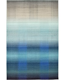 "Bridgeport Home Newwolf New1 Blue 10' 6"" x 16' 5"" Area Rug"