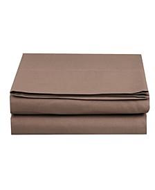 Silky Soft Single Flat Sheet Twin Taupe