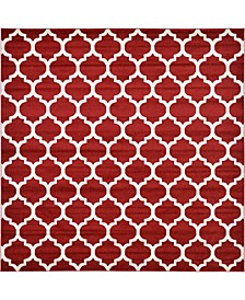 Arbor Arb1 Red 10' x 10' Square Area Rug