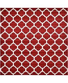 Bridgeport Home Arbor Arb1 Red 10' x 10' Square Area Rug