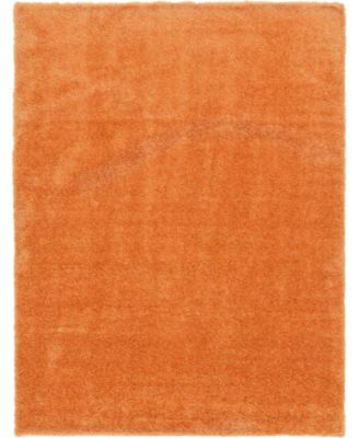 Jiya Jiy1 Orange 9' x 12' Area Rug
