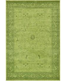Aldrose Ald4 Green 6' x 9' Area Rug