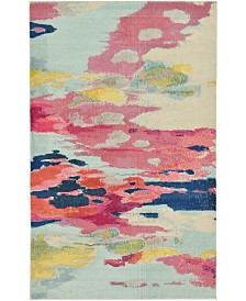 Bridgeport Home Newwolf New4 Pink 5' x 8' Area Rug