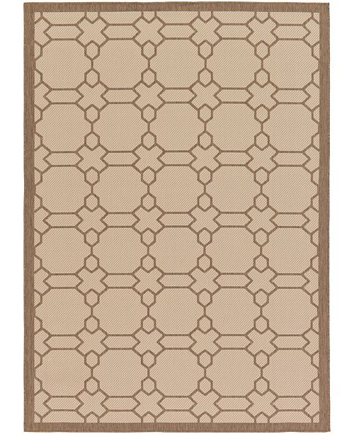 Bridgeport Home Pashio Pas1 Beige 7' x 10' Area Rug
