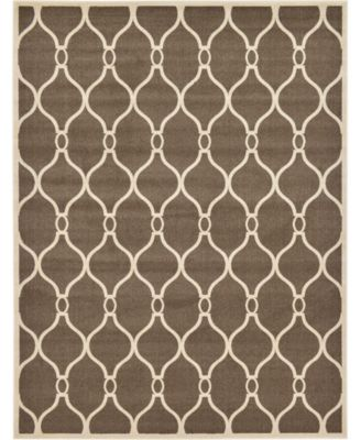 Arbor Arb6 Brown 9' x 12' Area Rug