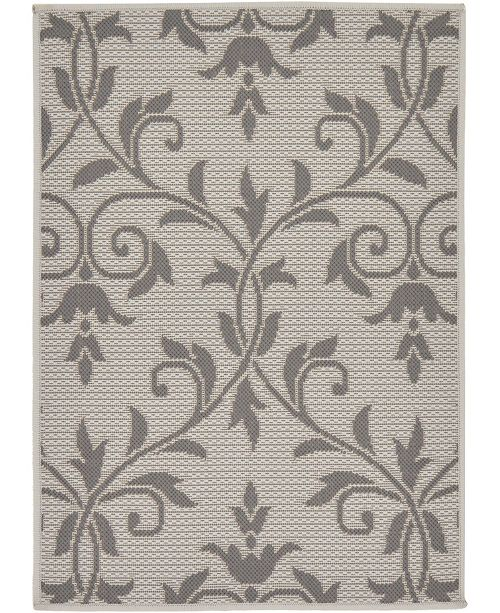 "Bridgeport Home Pashio Pas5 Gray 2' 2"" x 3' Area Rug"