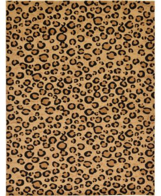 Maasai Mss2 Light Brown 9' x 12' Area Rug
