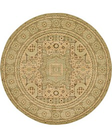 Wilder Wld1 Light Green 8' x 8' Round Area Rug