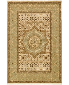 Bridgeport Home Wilder Wld4 Light Green 6' x 9' Area Rug