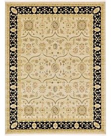 Bridgeport Home Orwyn Orw6 Beige/Black 9' x 12' Area Rug