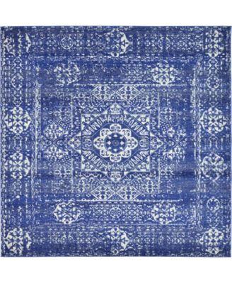 """Wisdom Wis3 Royal Blue 8' 4"""" x 8' 4"""" Square Area Rug"""