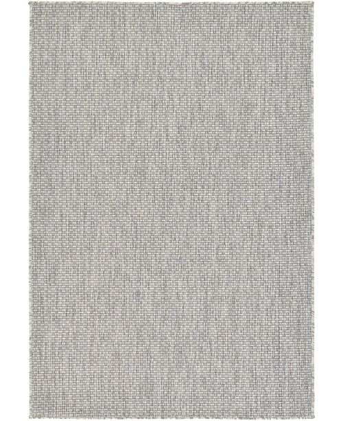 Bridgeport Home Pashio Pas6 Light Gray 4' x 6' Area Rug