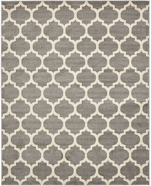 Bridgeport Home Arbor Arb1 Dark Gray 8' x 10' Area Rug