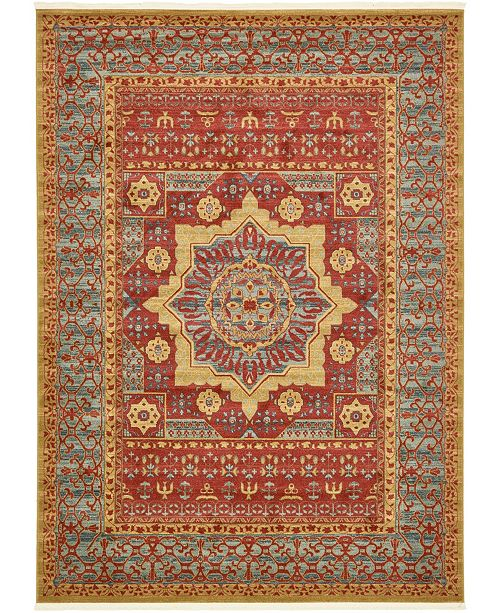 Bridgeport Home Wilder Wld4 Red 8' x 11' Area Rug