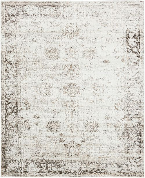 Bridgeport Home Basha Bas1 Beige 8' x 10' Area Rug