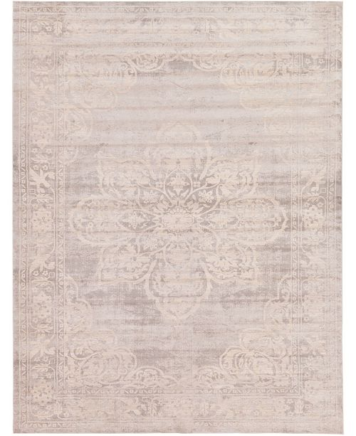 Bridgeport Home Caan Can4 Gray 9' x 12' Area Rug