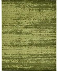 Lyon Lyo3 Green 10' x 13' Area Rug