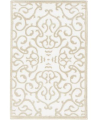 Marshall Mar5 Snow White 2' x 3' Area Rug