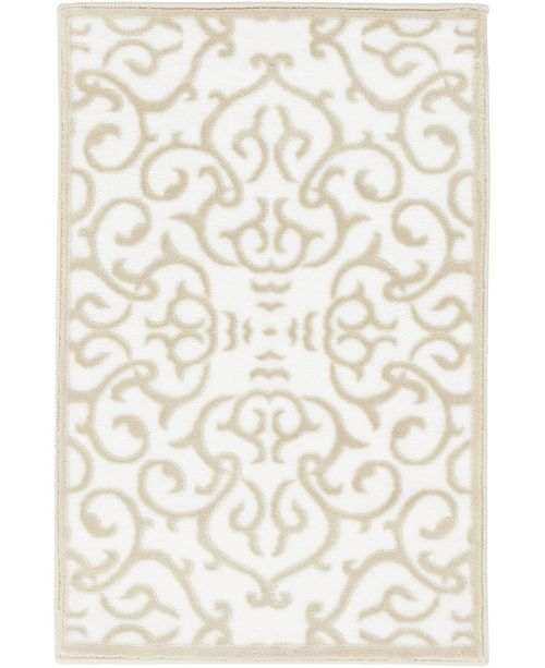 Bridgeport Home Marshall Mar5 Snow White 2' x 3' Area Rug