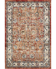 Bridgeport Home Shangri Shg2 Terracotta 4' x 6' Area Rug