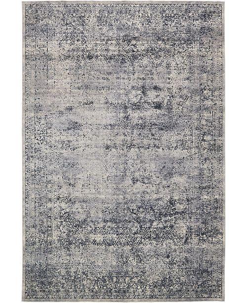 """Bridgeport Home Odette Ode3 Dark Blue 10' x 14' 5"""" Area Rug"""