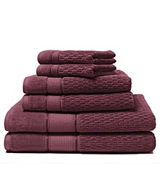Royale 6-Piece 100% Turkish Cotton Bath Towel Set