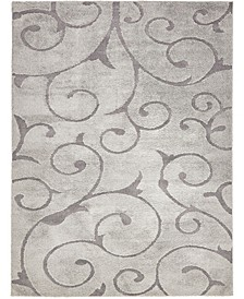 Malloway Shag Mal1 Gray 9' x 12' Area Rug