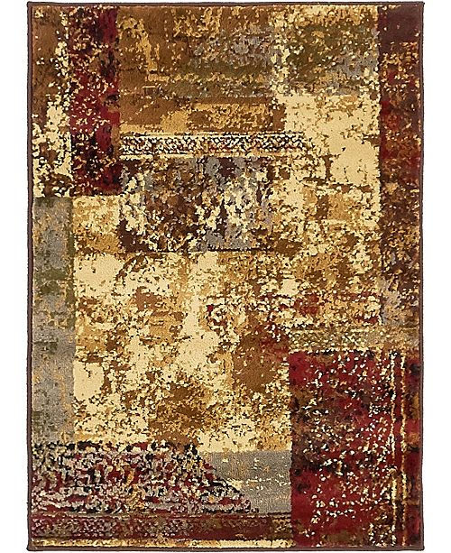 "Bridgeport Home Kallista Kal4 Beige 2' 2"" x 3' Area Rug"