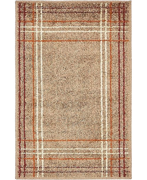 Bridgeport Home Jasia Jas13 Light Brown 2' x 3' Area Rug