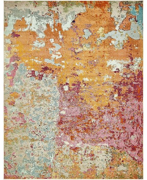 Bridgeport Home Crisanta Crs1 Multi 8' x 10' Area Rug