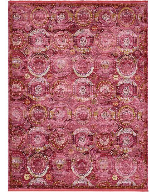 Bridgeport Home Kenna Ken4 Pink 10' x 13' Area Rug