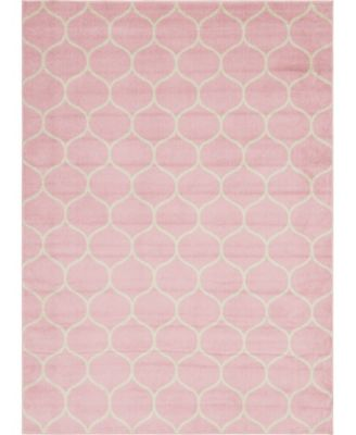 Plexity Plx2 Pink 9' x 12' Area Rug