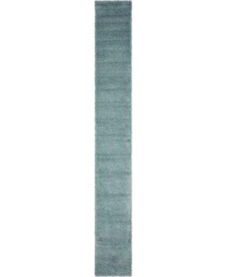 Exact Shag Exs1 Light Slate Blue 3' 3