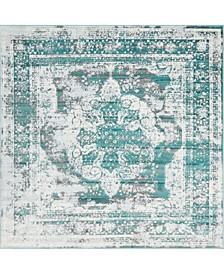 Basha Bas2 8' x 8' Square Area Rug