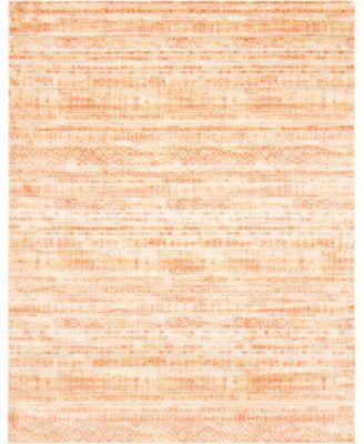 Haven Hav2 Orange 8' x 10' Area Rug