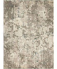 Bridgeport Home Crisanta Crs4 Gray 9' x 12' Area Rug