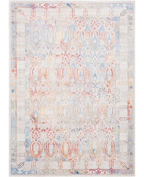 Bridgeport Home Zilla Zil2 Ivory 10' x 14' Area Rug