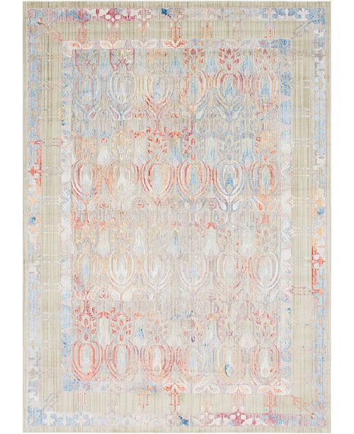 Bridgeport Home Zilla Zil2 Beige Area Rug Collection