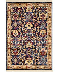 Borough Bor1 Blue 6' x 9' Area Rug