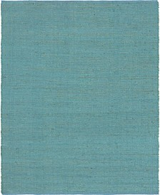 Prisma Jute Prs1 Turquoise 8' x 10' Area Rug