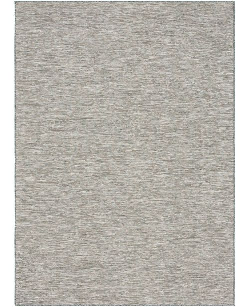 "Bridgeport Home Pashio Pas8 Light Gray 8' 4"" x 11' 4"" Area Rug"