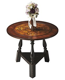 CLOSEOUT! Butler Charlton Inlay Foyer Table