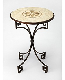CLOSEOUT! Butler Rhea Stone Side Table